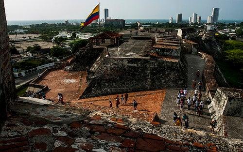 Castillo de San Felipe en Cartagena 3