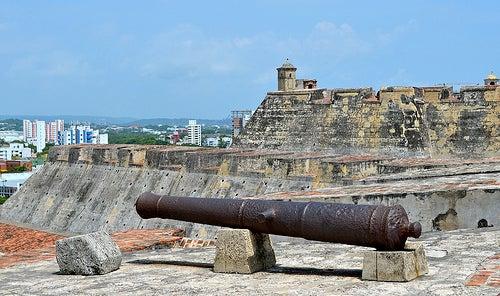 Castillo de San Felipe en Cartagena 4