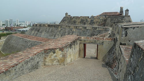 Castillo de San Felipe en Cartagena 5