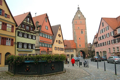 Dinkelsbühl, una de las ciudades más bellas de la Ruta Romántica de Alemania