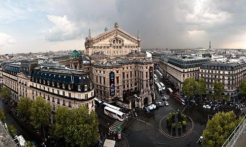 Palacio Garnier en París 2