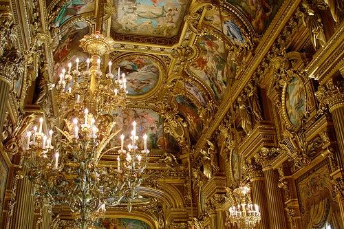 Palacio Garnier en París 3