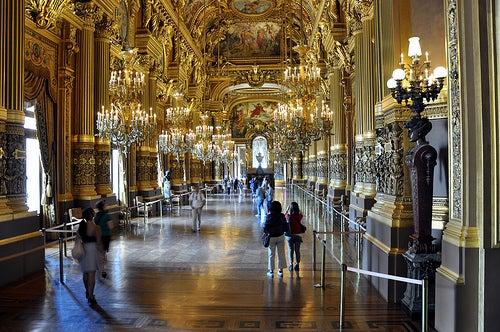 Palacio Garnier en París 4