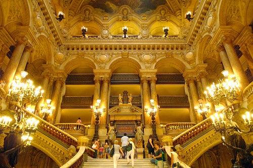 Palacio Garnier en París 6