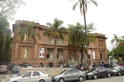 La Pinacoteca de Sao Paulo, uno de los más importantes museos de arte de Brasil