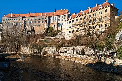 Demos un vistazo al espectacular Castillo de Cesky Krumlov en la República Checa