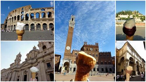Si te gusta el gelato, hoy te indicamos donde tomar los mejores helados de Italia