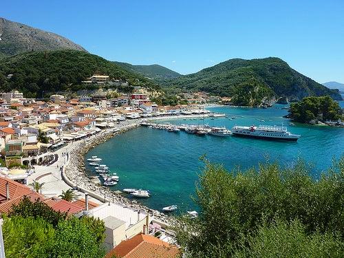 La ciudad costera de Parga, uno de los lugares más bellos de Grecia