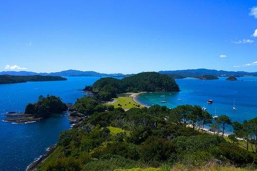 La Bahía de las Islas, uno de los lugares de Nueva Zelanda más extraordinarios