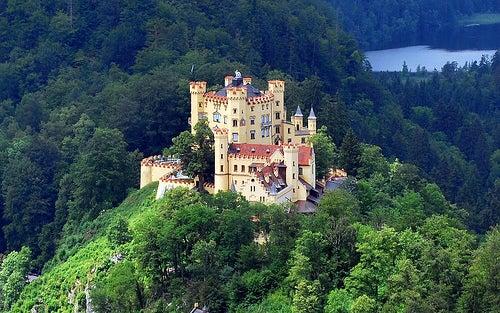 El fantástico Castillo de Hohenschwangau, hogar de la realeza alemana