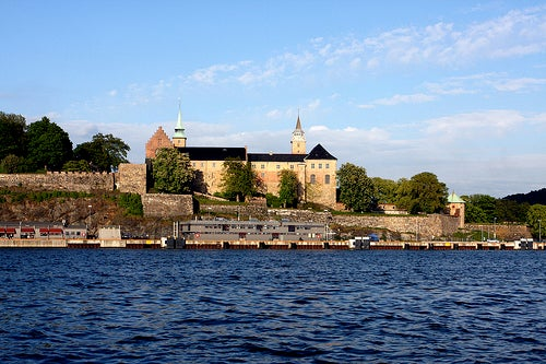La histórica fortaleza Akershus en Oslo