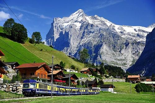 La maravillosa experiencia de visitar Grindelwald en Suiza