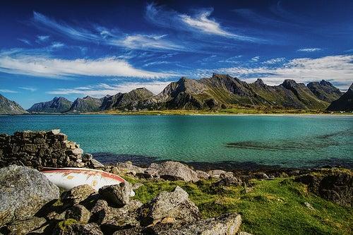 El increíble paisaje de las Islas Lofoten en Noruega