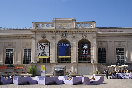 Museumsquartier en Viena 2