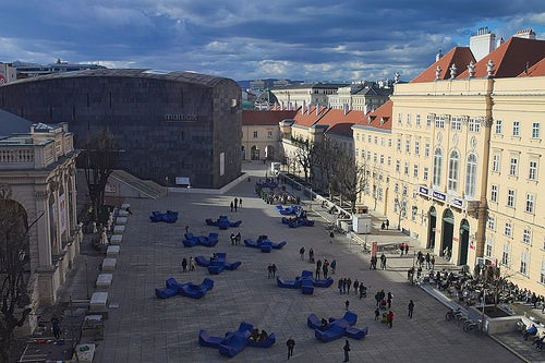 Museumsquartier en Viena 6