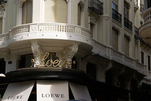 De compras por madrid, Loewe