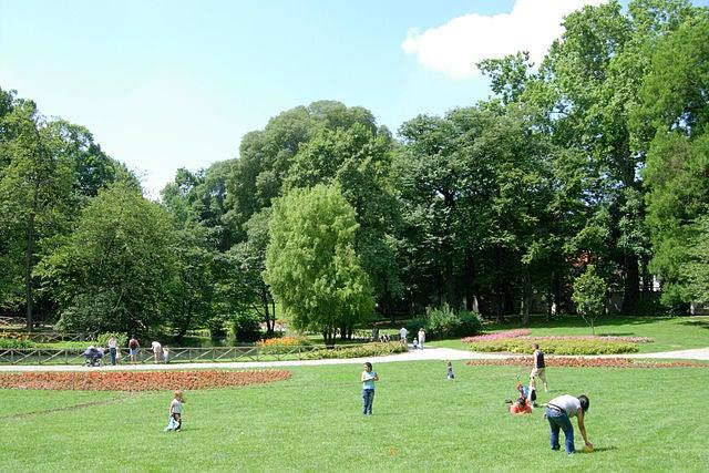jardín de la Villa Belgiojoso Bonaparte 3
