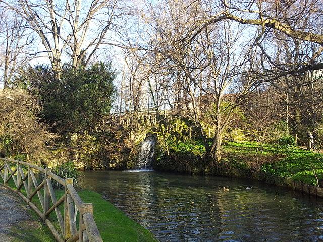 jardín de la Villa Belgiojoso Bonaparte 4