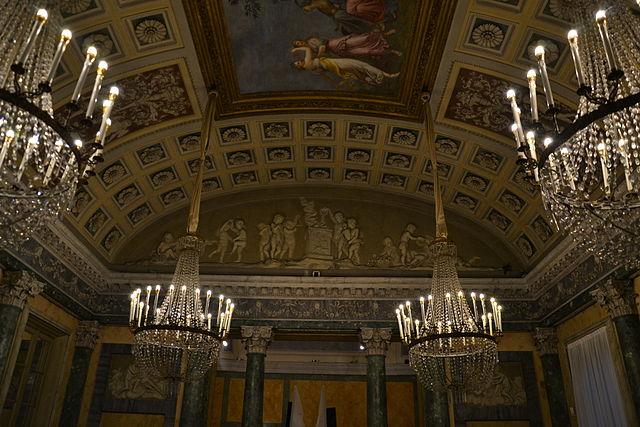 jardín de la Villa Belgiojoso Bonaparte 5