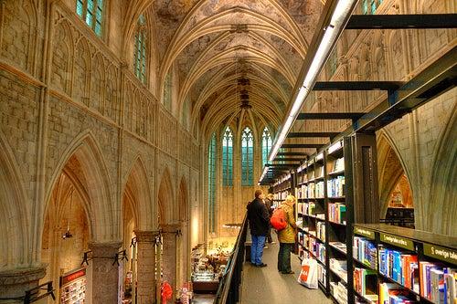 La librería Selexyz Dominicanen, la más fantástica del mundo