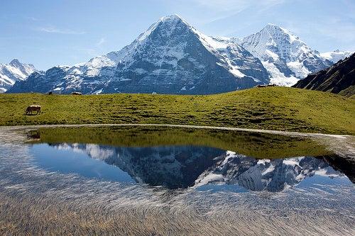 montañas de Suiza 4