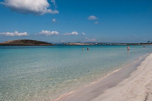 ses illetes una de las mejores playas de españa