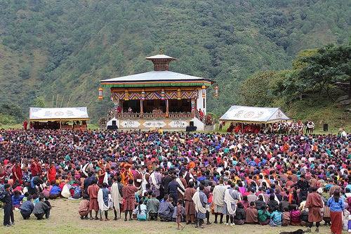 Grandiosos templos de Bután 2