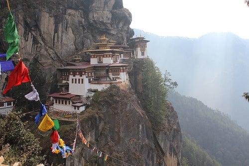 Grandiosos templos de Bután 4