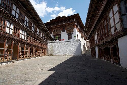 Grandiosos templos de Butan