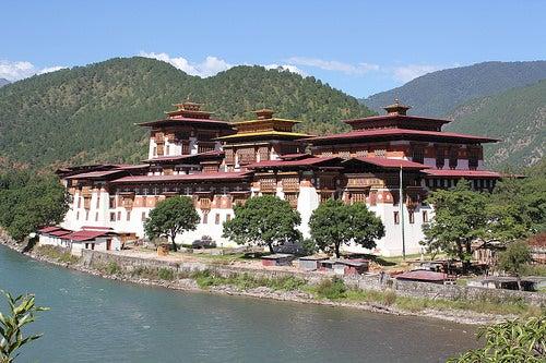 Grandiosos templos de Bután 7