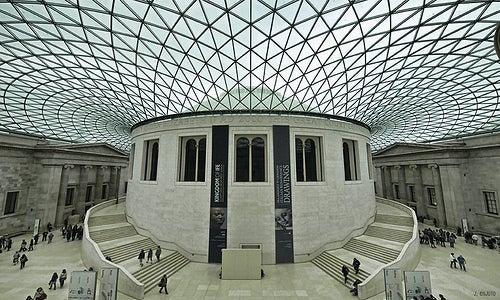 El Museo Británico, uno de los lugares más visitados de Londres