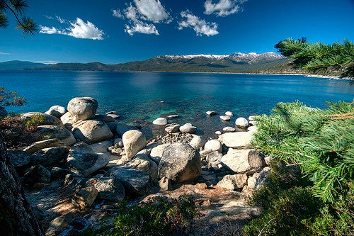 La maravillosa belleza del Lago Tahoe en California