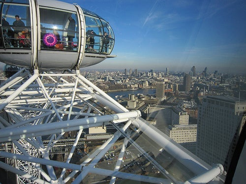 London Eye, uno de los lugares más visitados de Londres 2