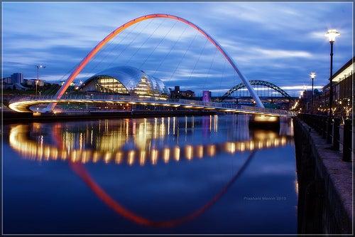 Newcastle y Gateshead, las ciudades unidas por siete puentes
