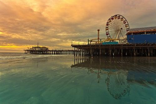 Santa Mónica en California, un lugar lleno de diversión
