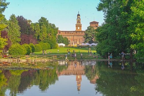 El Parque Sempione, un oasis en el centro de Milán