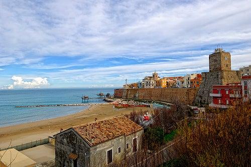 Termoli en Italia, un balcón abierto al mar