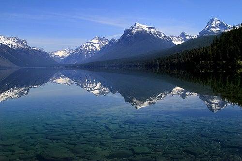El espectacular Lago McDonald en Estados Unidos