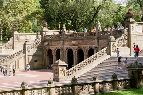 La Terraza Bethesada, un lugar fantástico en el Central Park