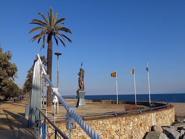 Canet de Mar, una bella localidad de la costa de España