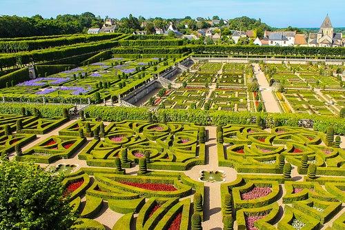 Jardines de Villandry, una de las más bellas obras de arte de Francia