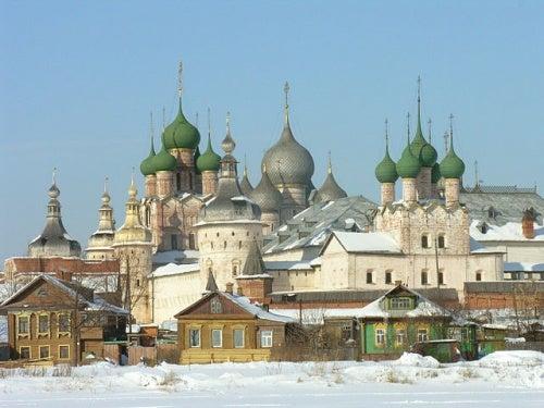 """La turística ciudad de Rostov y su monumental """"Kremlin"""""""
