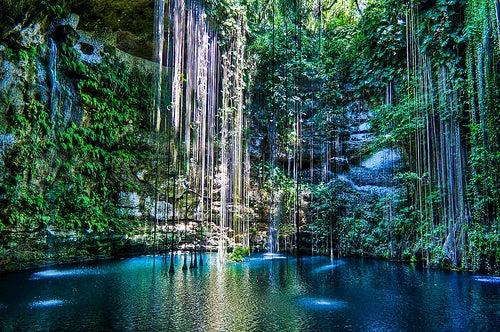 El Cenote Ik Kil, un majestuoso lugar en México