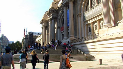Maravillados con el Museo de Arte de Nueva York