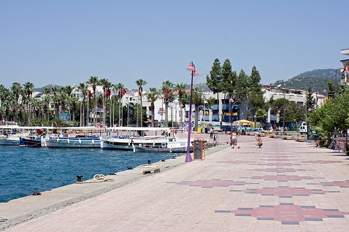 La encantadora Marmaris en Turquía