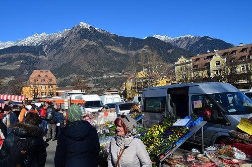 Deleitándonos con la belleza de Merano en Italia