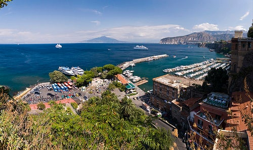 Los preciosos contrastes de Sorrento en Italia