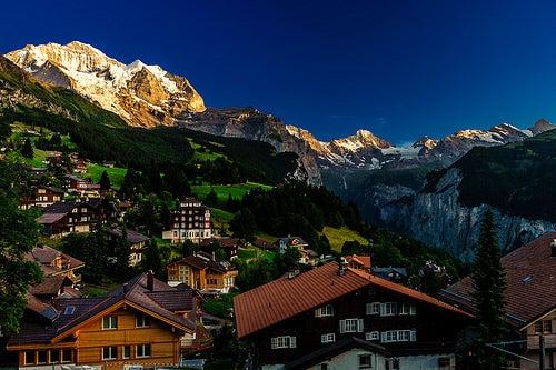 La belleza de Wengen, una hermosa localidad de Suiza