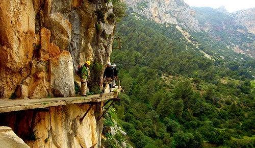 El Caminito del Rey, un lugar de belleza extraordinaria