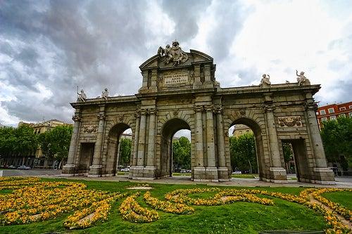 La Puerta de Alcalá, uno de los monumentos más emblemáticos de Madrid